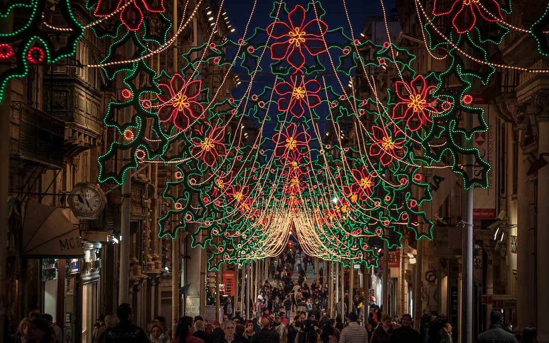 GET OFF YOUR SWIMMING SUITS – CHRISTMAS  STARTS IN MALTA!